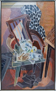 Modernist View of a Chair by Alan Tompkins