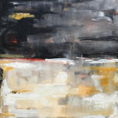 Dusk, Abstract Painting