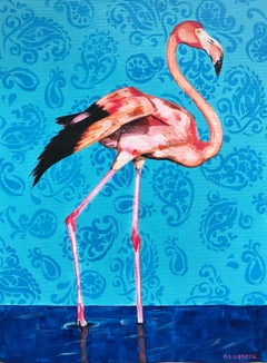 Flamingo, Original Painting