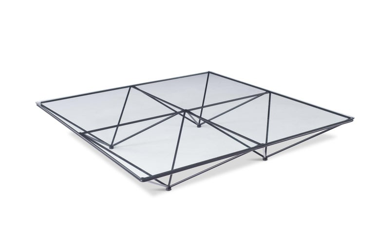 Alanda Square Coffee Table by Paolo Piva for B&B Italia In Good Condition For Sale In Antwerp, BE