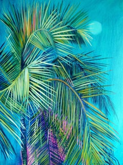 Alanna Eakin, Mersing, Palm Tree Art, Affordable Art, Contemporary Art