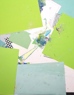 Atlas 1703, Kaneohe - Contemporary Abstract Painting