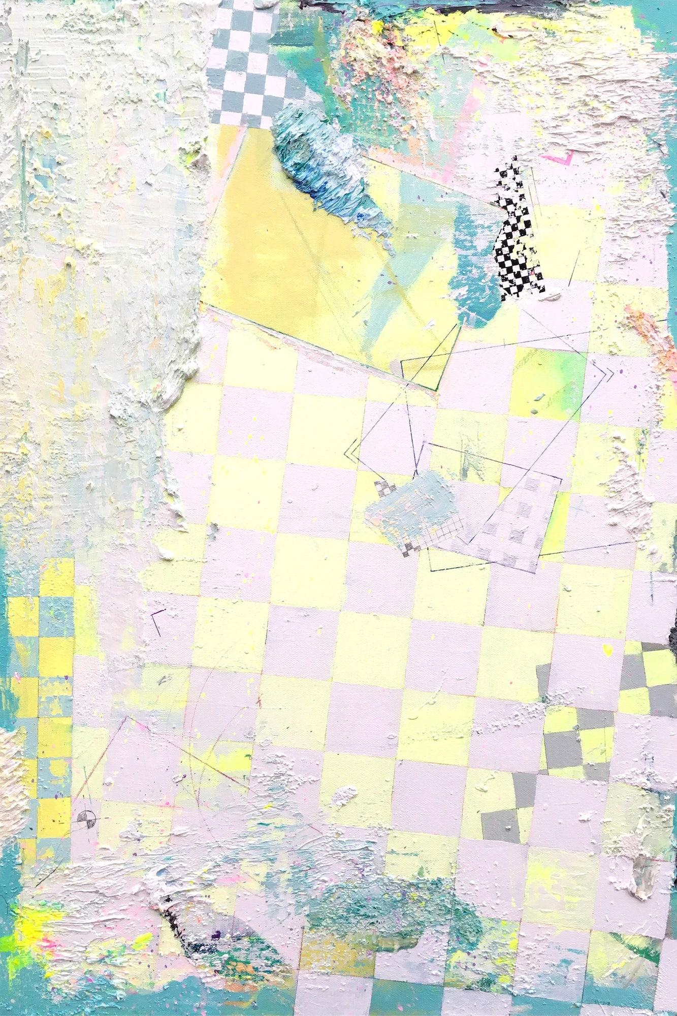 Atlas 1807, Oz - Contemporary Abstract Painting