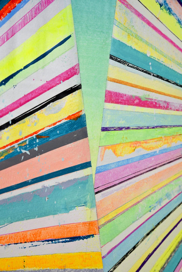 Pantone 1804 - Contemporary Abstract Painting 3