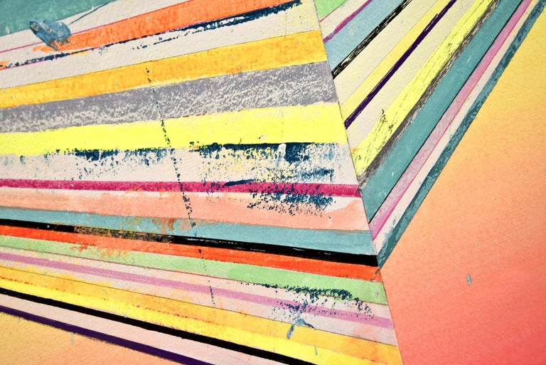 Pantone 1804 - Contemporary Abstract Painting 4