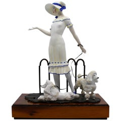 Albany Limited Edition Porcelain and Bronze Figurine Paris