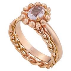 Albareum Ring, 18 Karat Rose Gold