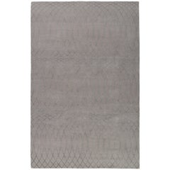Albemarle Hand-Knotted 10x8 Rug in Wool and Silk by Paul Smith