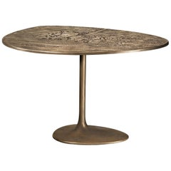 Albeo III, Coffee Table, Brass, Modern, European, 21st Century