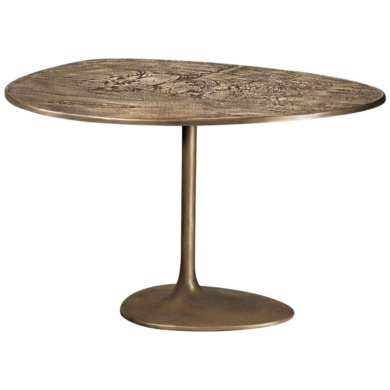 Albeo III, Coffee Table, Brass, Modern, European, 21st Century For Sale
