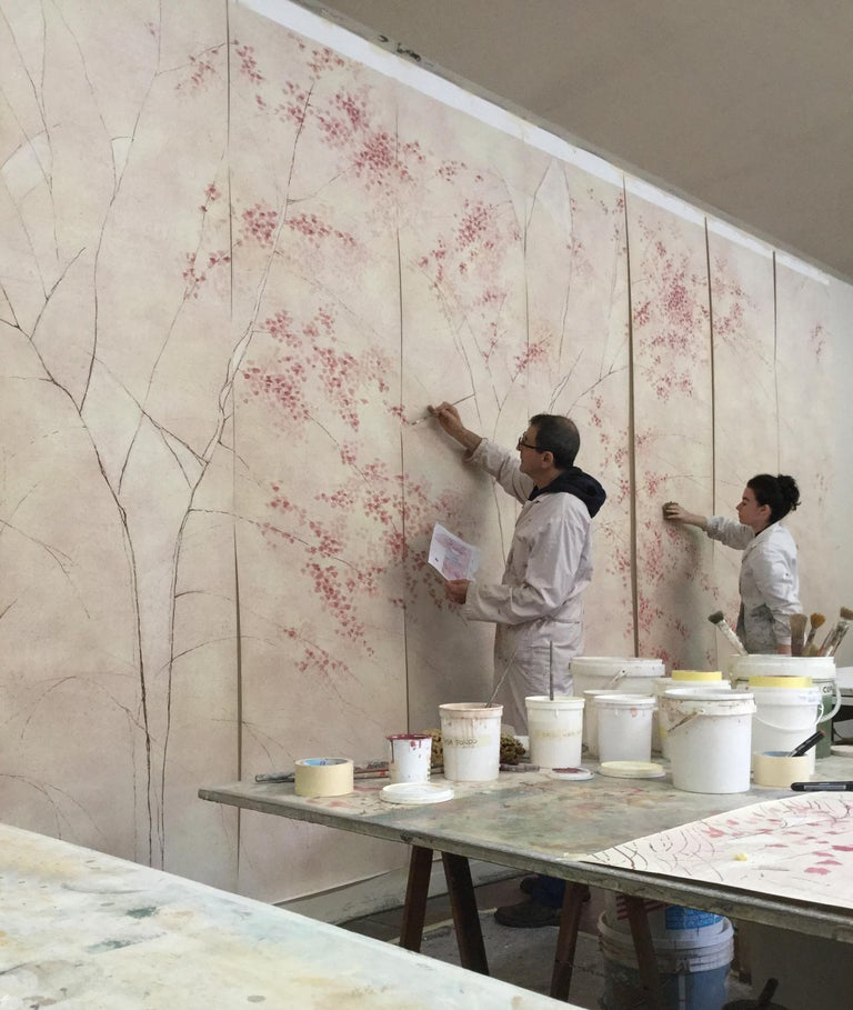 Albero, Handmade Wallpaper For Sale 5