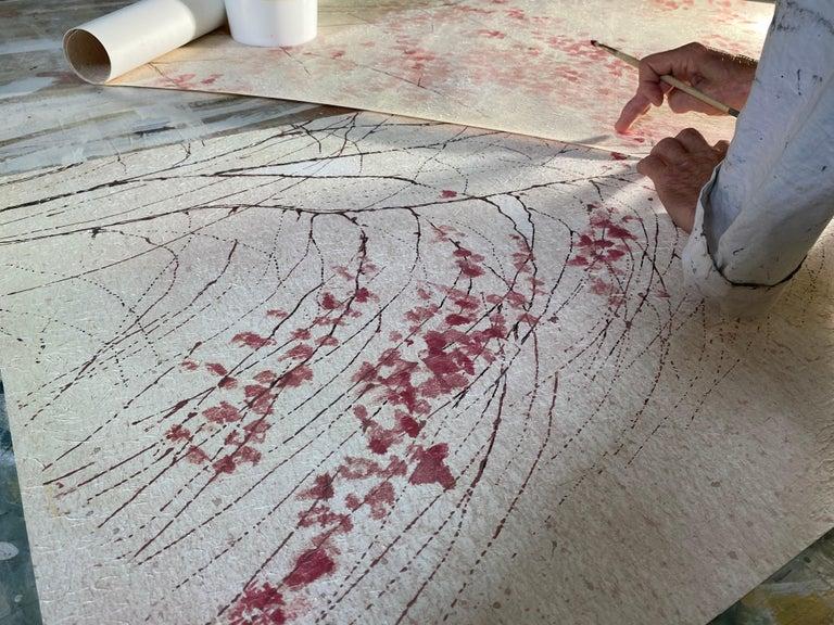 Albero, Handmade Wallpaper For Sale 3