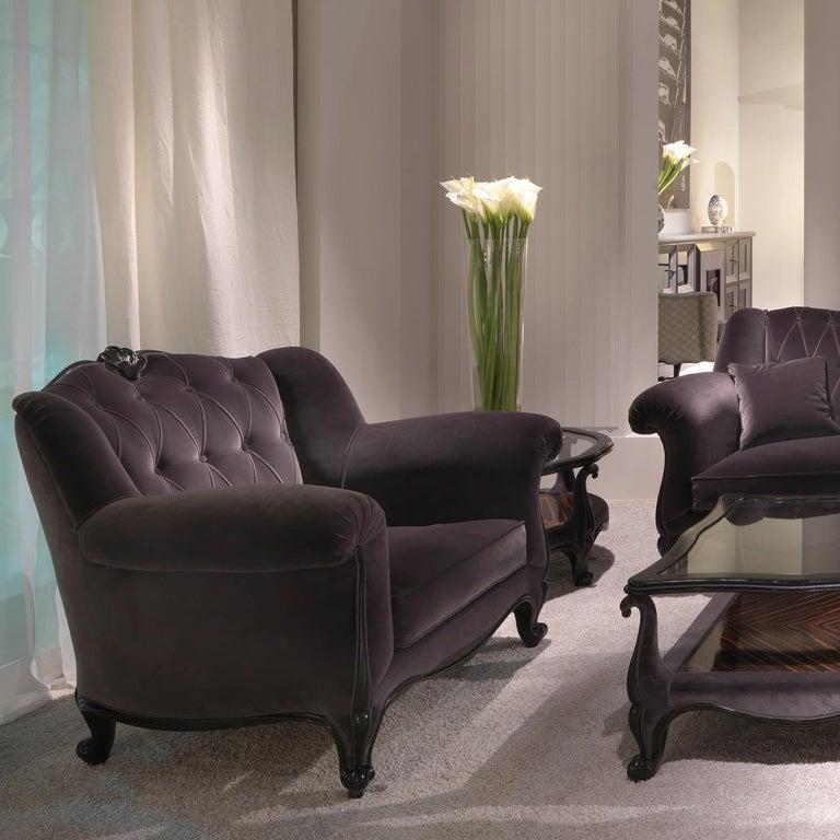 Modern Albert 3-Seater Sofa For Sale