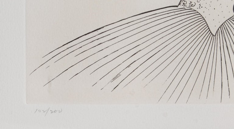 Beverly Sills, Opera Caricature Etching by Al Hirschfeld - Print by Albert Al Hirschfeld