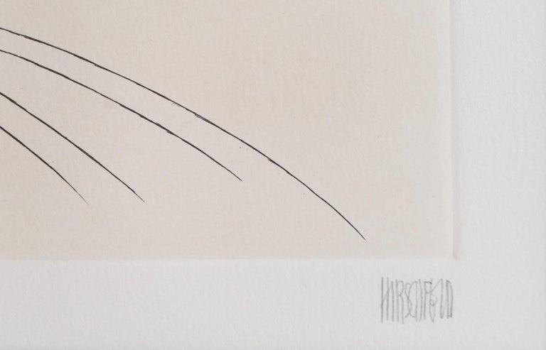 Beverly Sills, Opera Caricature Etching by Al Hirschfeld - Post-Modern Print by Albert Al Hirschfeld