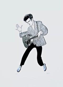 Elvis Presley (Blue Suede Shoes)