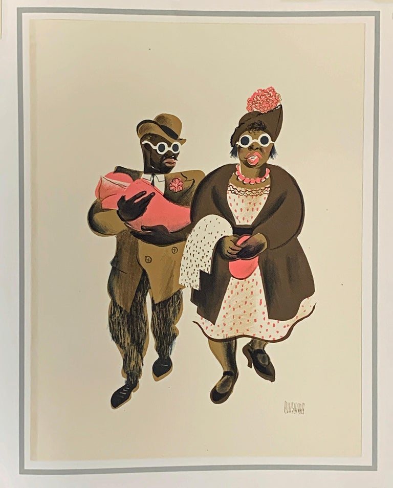 HARLEM AS SEEN BY HIRSCHFELD For Sale 7