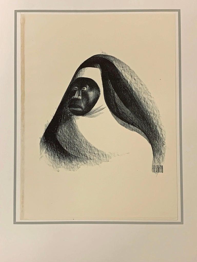 HARLEM AS SEEN BY HIRSCHFELD - Print by Albert Al Hirschfeld