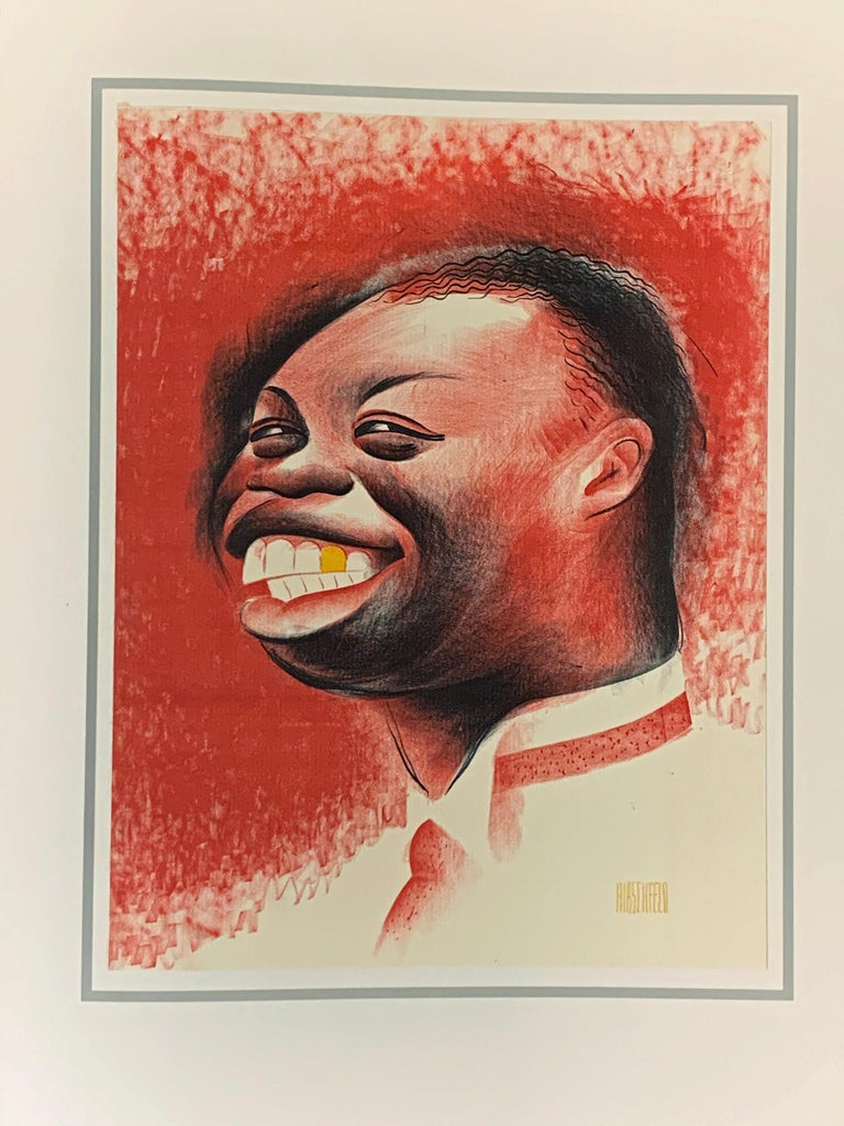 HARLEM AS SEEN BY HIRSCHFELD For Sale 5