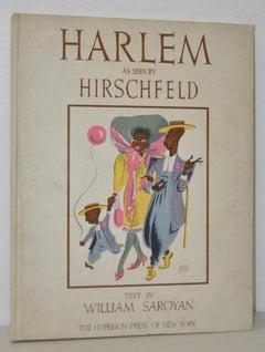 Harlem As Seen By Hirschfeld Portfolio