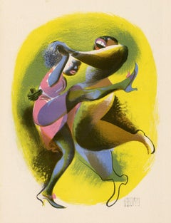 Lindy Hop —from 'Harlem as Seen by Hirschfeld'