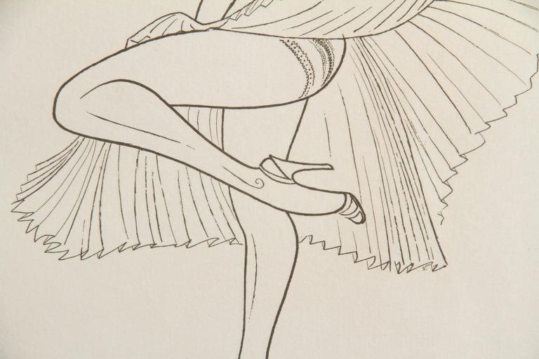Artist: Al Hirschfeld, American (1903 - 2003) Title: Marilyn Monroe from