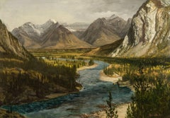 Bow River Falls, Canadian Rockies