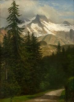 Mountainous Landscape Near Estes Park, Colorado