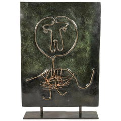 Albert Chubac, Sculpture, Bronze, France, circa 1980