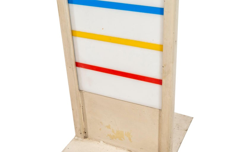 Late 20th Century Albert Chubac, TOTEM Sculpture, circa 1980, France For Sale