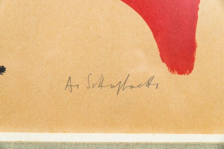 Mid-20th Century Albert Chubac, Painting, France, circa 1960 For Sale