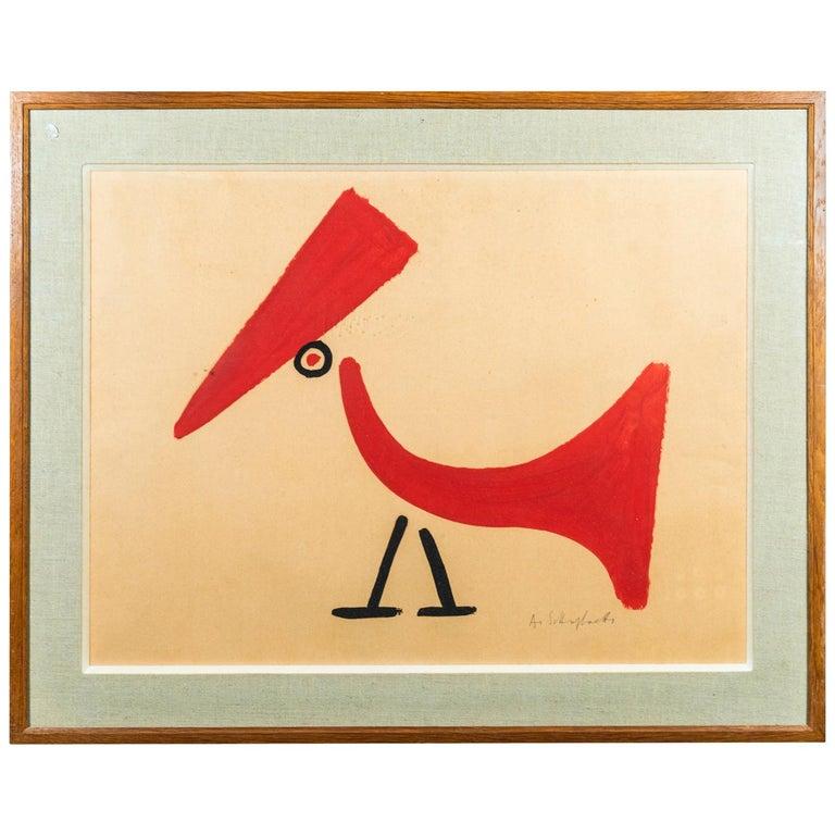 Albert Chubac, Painting, France, circa 1960 For Sale