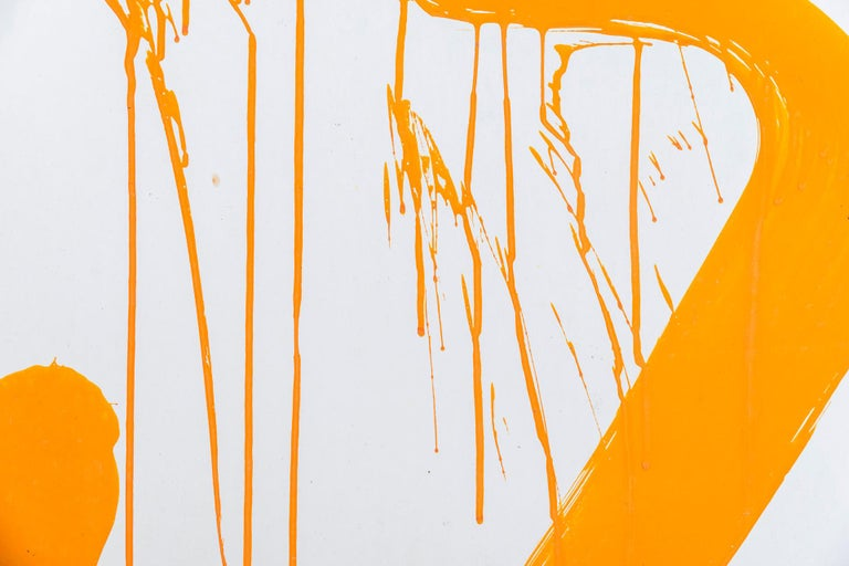 Albert Chubac, Abstract composition,  Painting, Stamped,  circa 1960, France.  Measures: Width 79 cm, height 107.5 cm.