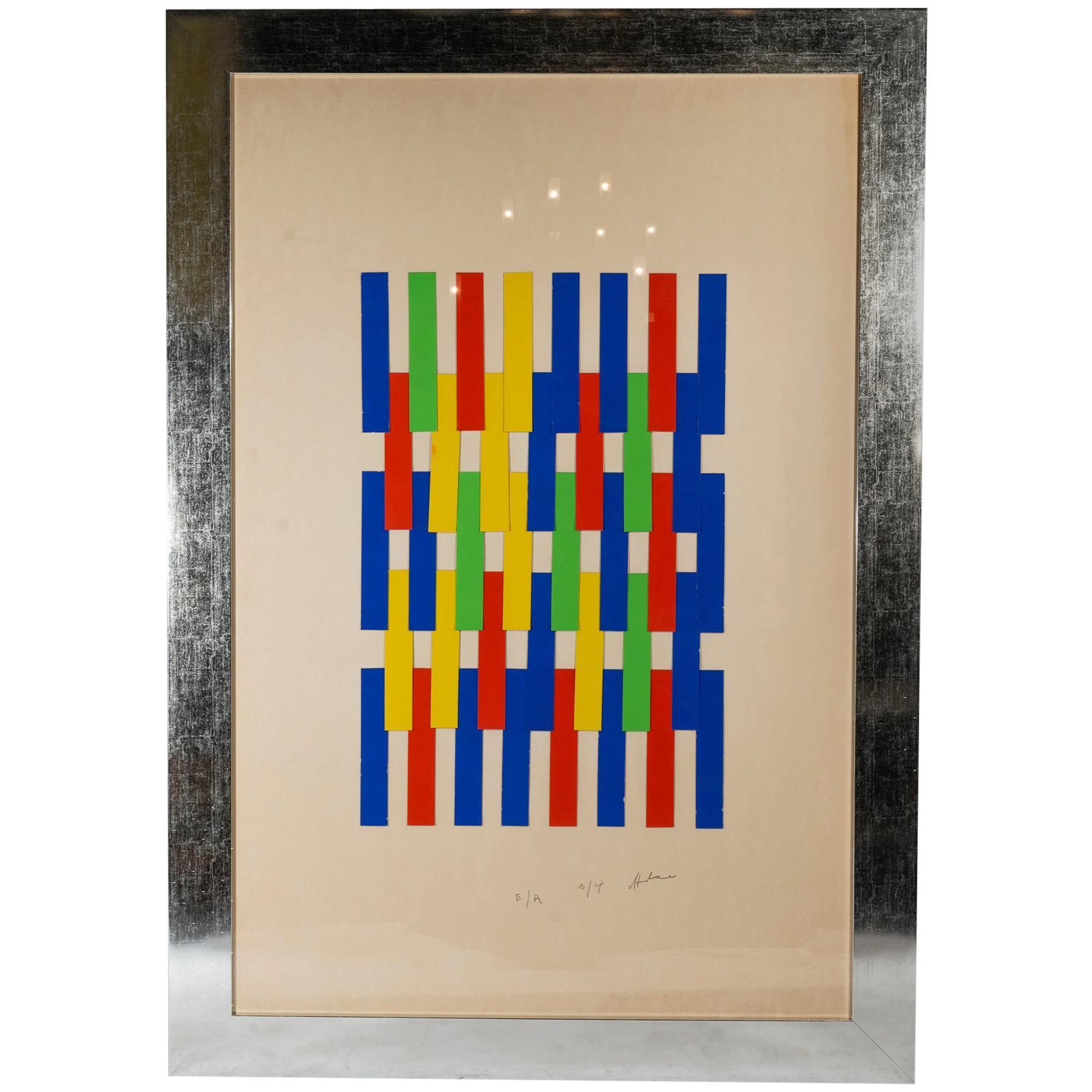 Albert Chubac, Painting, Signed, circa 1980, France