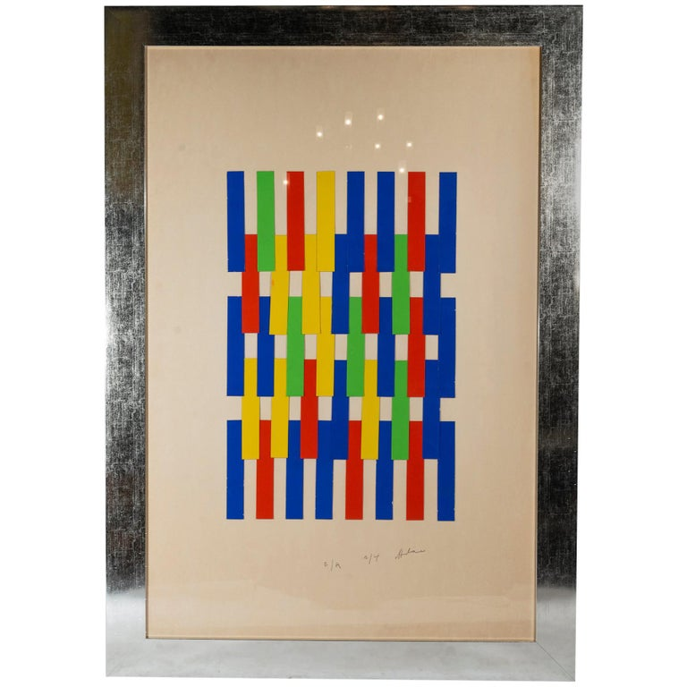 Albert Chubac, Painting, Signed, circa 1980, France For Sale