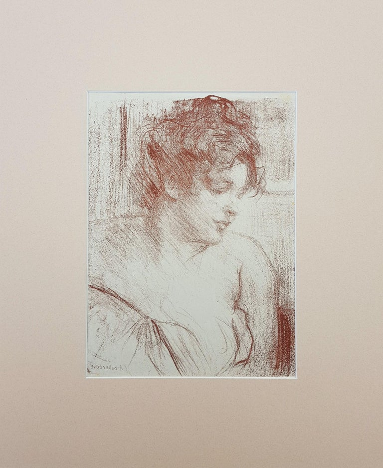 Etude (Study) - Print by Albert de Belleroche
