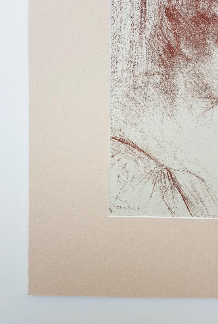 Etude (Study) - Impressionist Print by Albert de Belleroche