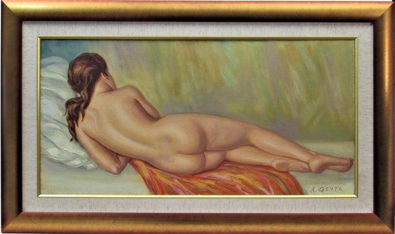 Albert Genta Nude Painting - Nude