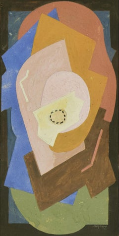 Composition by ALBERT GLEIZES - Cubism, Abstract, School of Paris, Section d'Or
