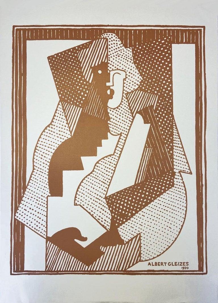 Albert Gleizes  print 1920 Orchard paper - Print by Albert Gleizes