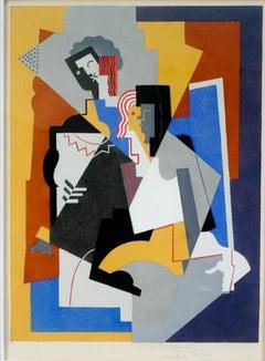 Composition avec deux Figures Planes