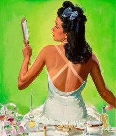Tan Lines, The Saturday Evening Post cover, September 27, 1941