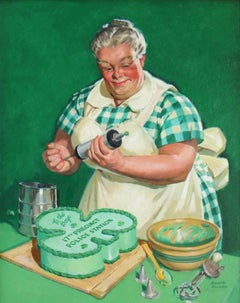 The Baker, Saturday Evening Post Cover