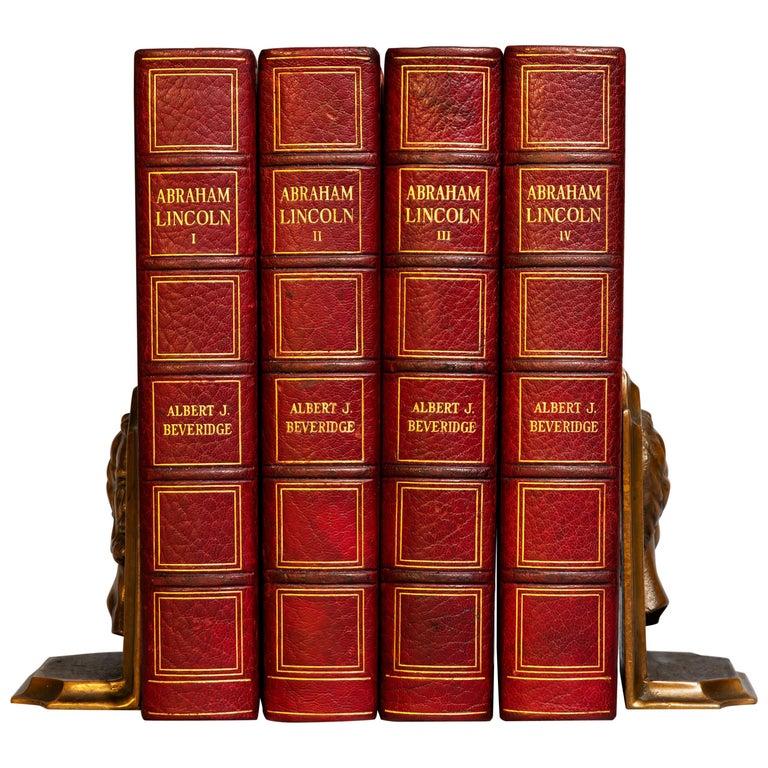 Albert J. Beveridge, Abraham Lincoln For Sale