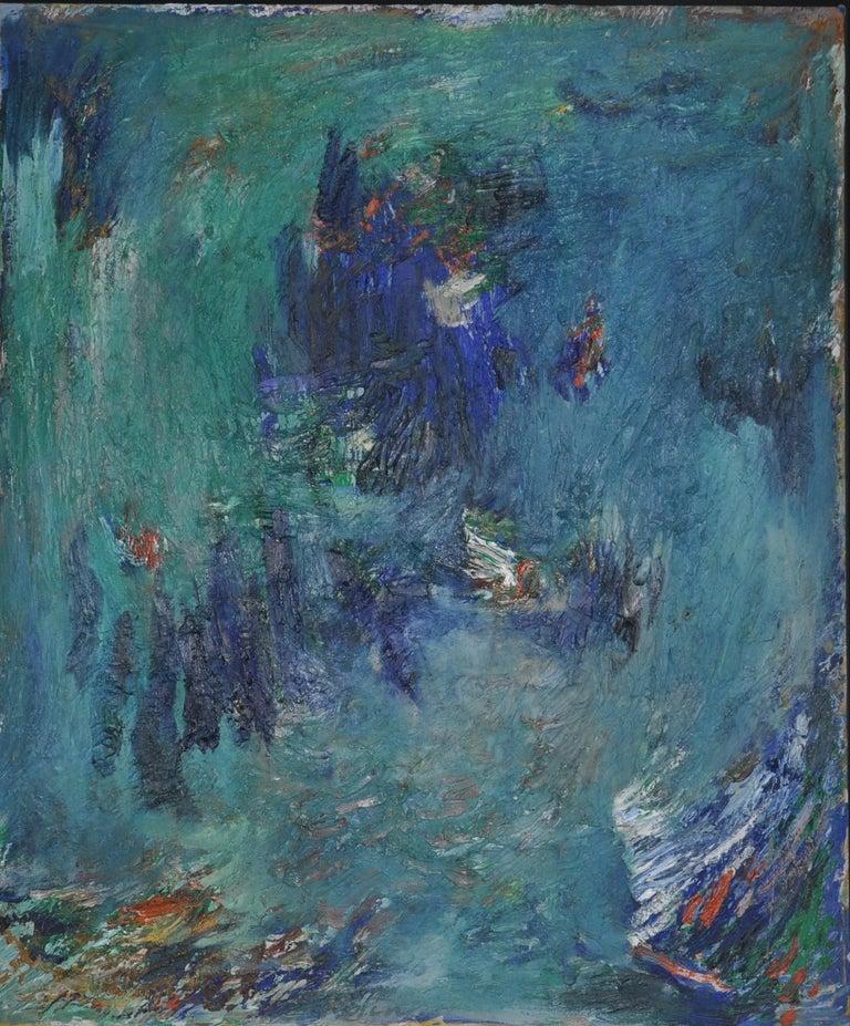 Albert Kotin Abstract Painting - Emergence