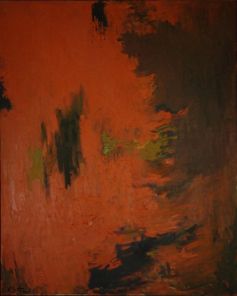 Inca - Painting by Albert Kotin
