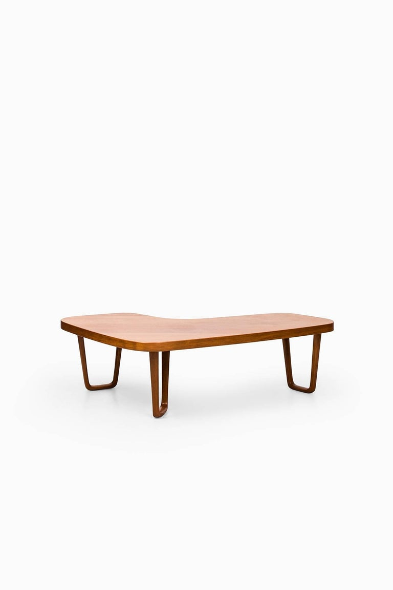 Albert Larsson Coffee Table in Teak by Alberts in Tibro, Sweden In Excellent Condition For Sale In Malmo, SE