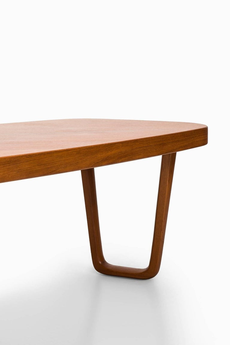Mid-20th Century Albert Larsson Coffee Table in Teak by Alberts in Tibro, Sweden For Sale