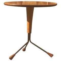 Albert Larsson Side Table/1950s Scandinavian Table
