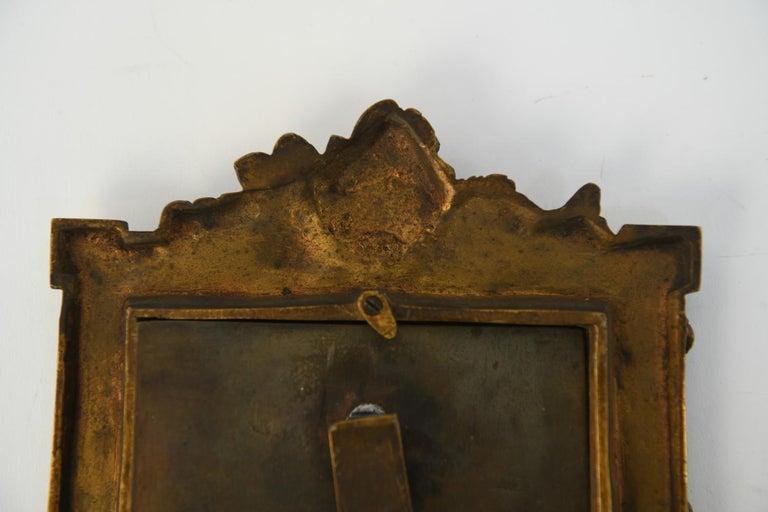 Albert Marionnet Bronze Picture Frame For Sale 4